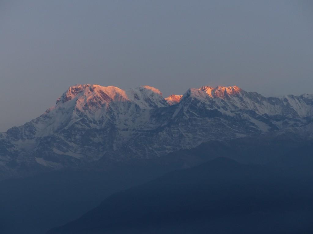 Sonnenaufgang über Annapurna I