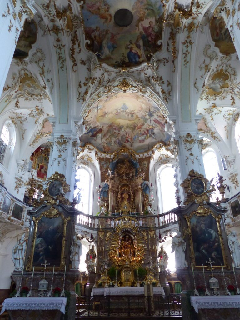 Altar der Klosterkirche Andechs