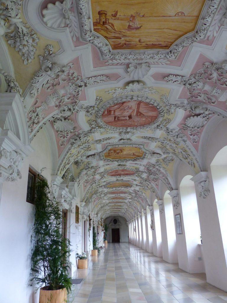 Gang im Kloster Wessobrunn