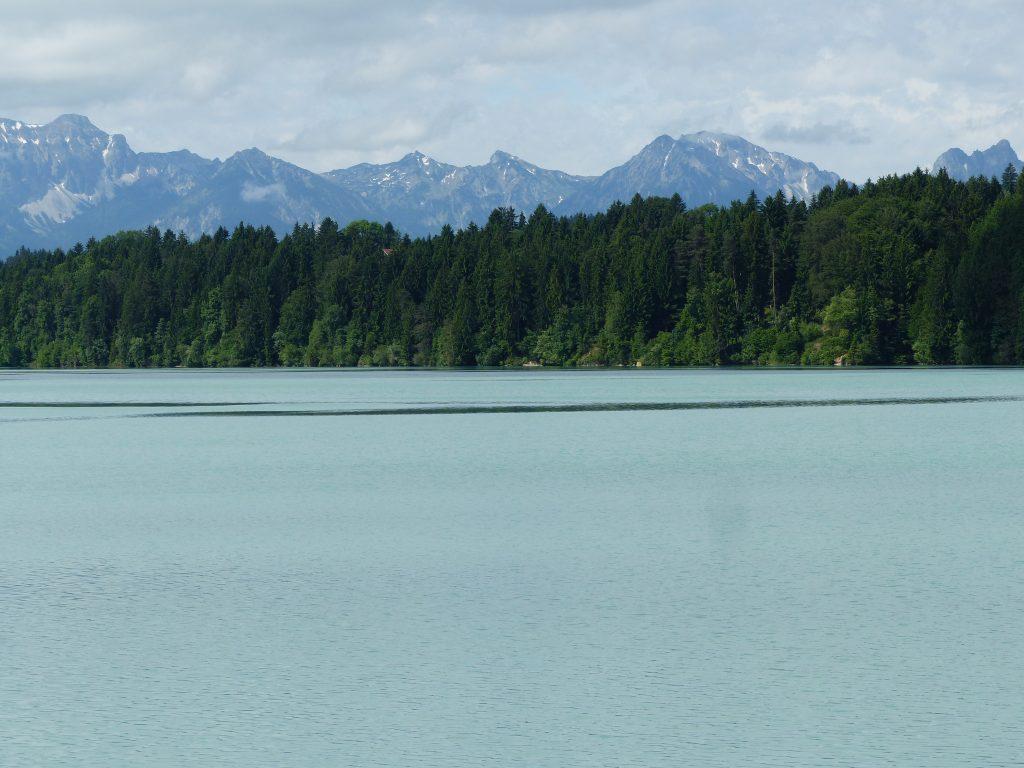 Lechsee mit Ammergauer Alpen