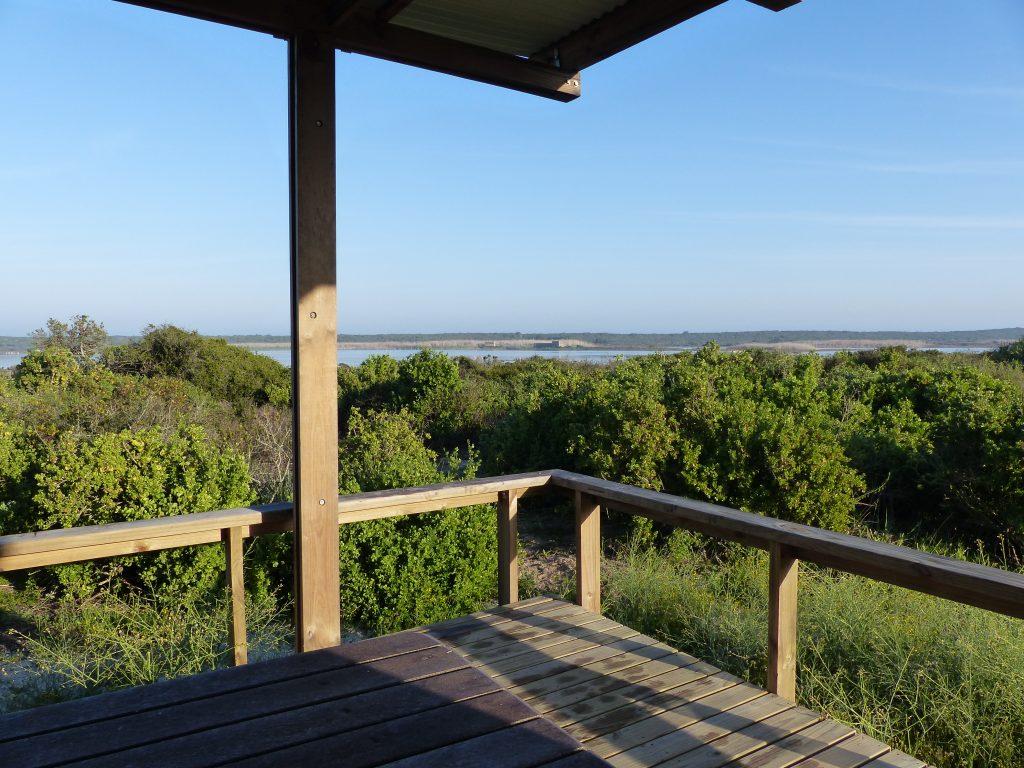 Blick von 'unserer' Terrasse