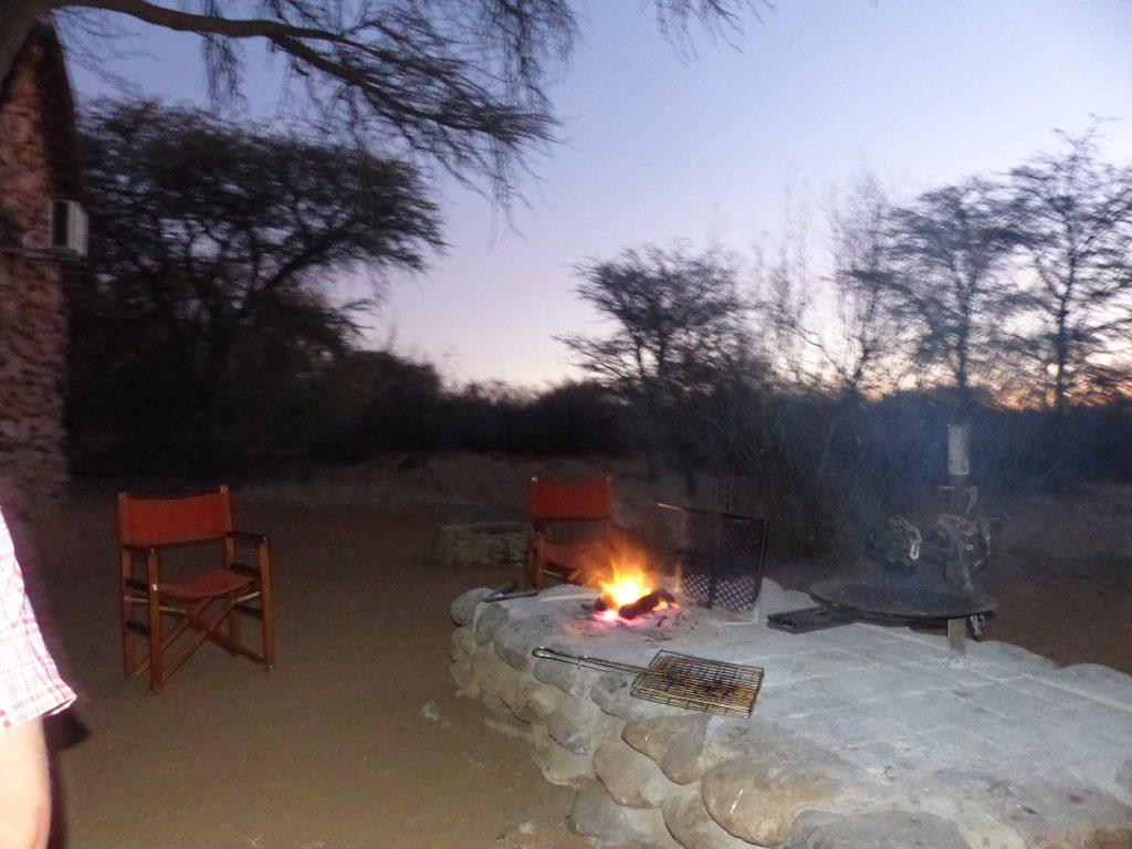 Feuerstelle zum Grillen