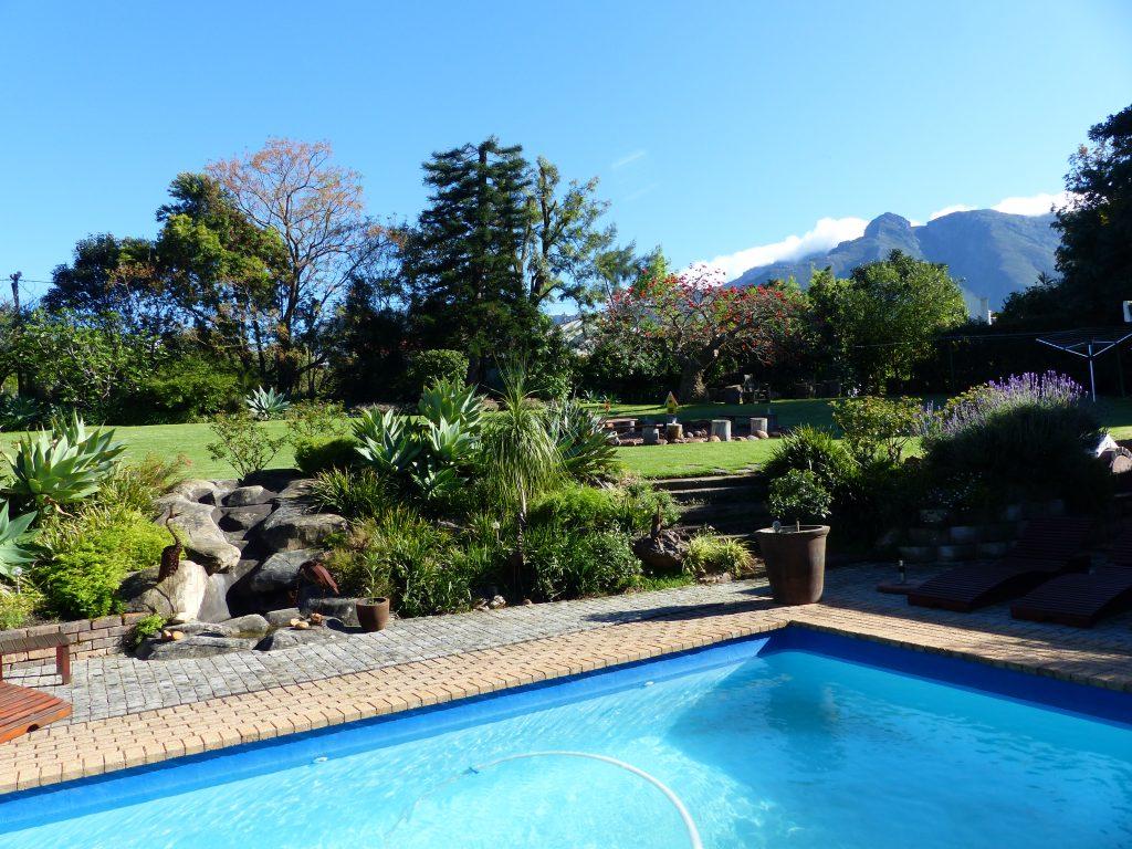Garten der Marula Lodge