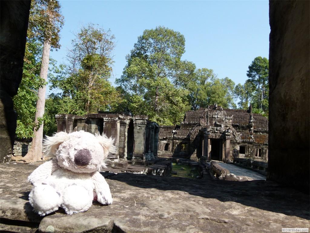 Ruinen in Angkor Wat