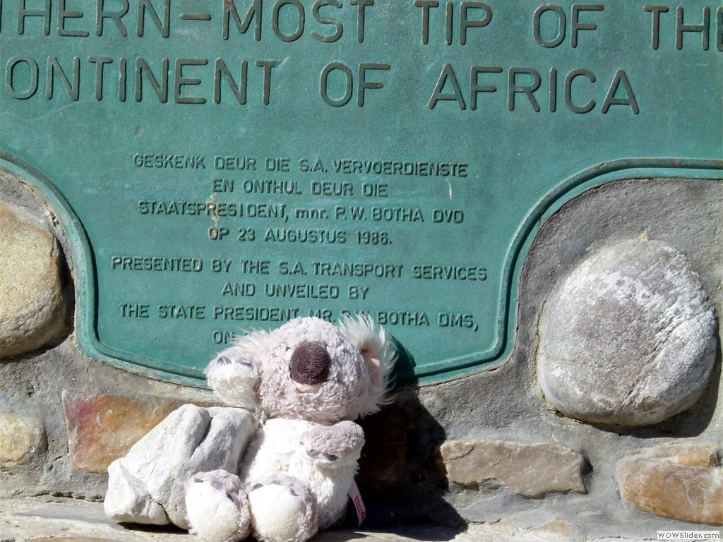 Der südlichste Punkt Afrikas